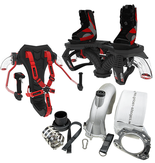 Flyboard and JetPack Kit with Standard Rider Hose