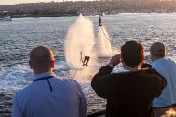 horn blower cruises event san diego bay aquatic aviation