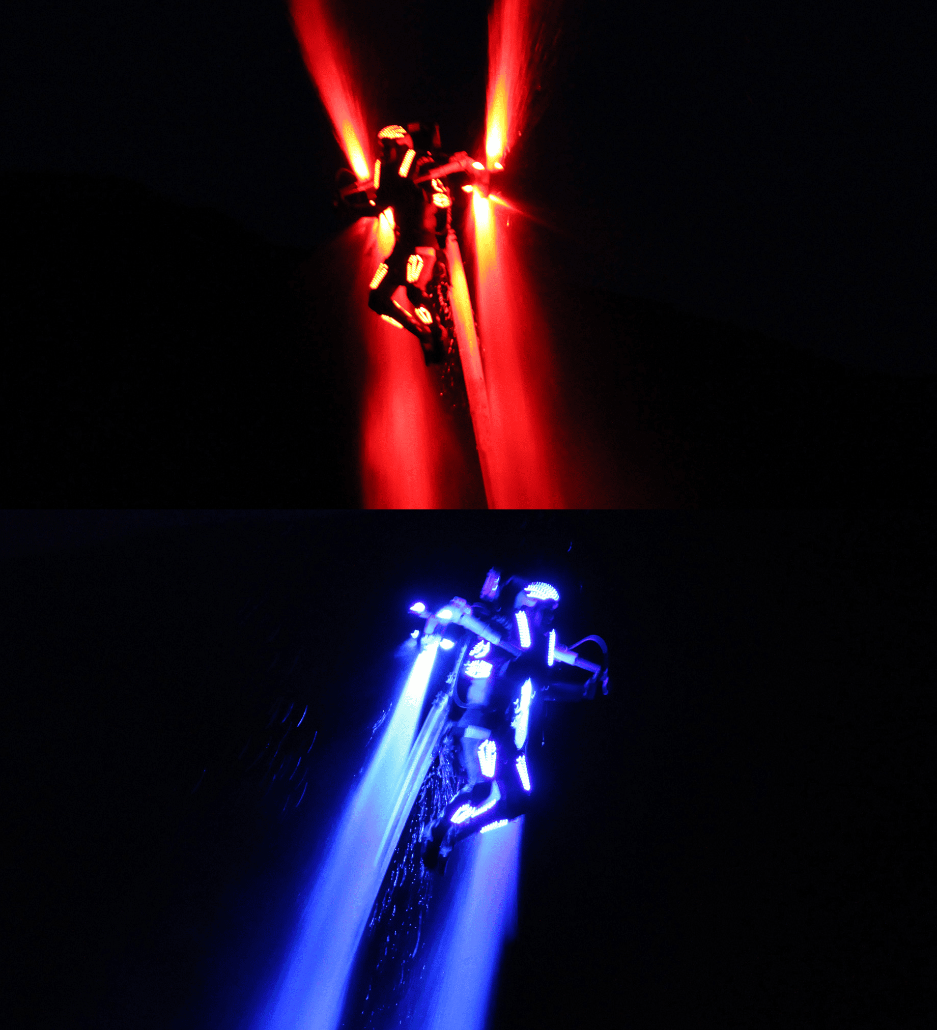 Jetpack Laser light Show hydro