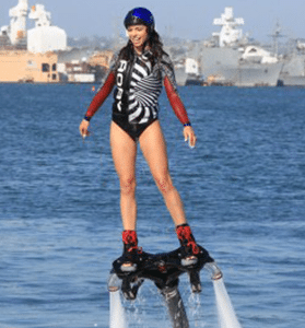 Girl Flyboard Rental