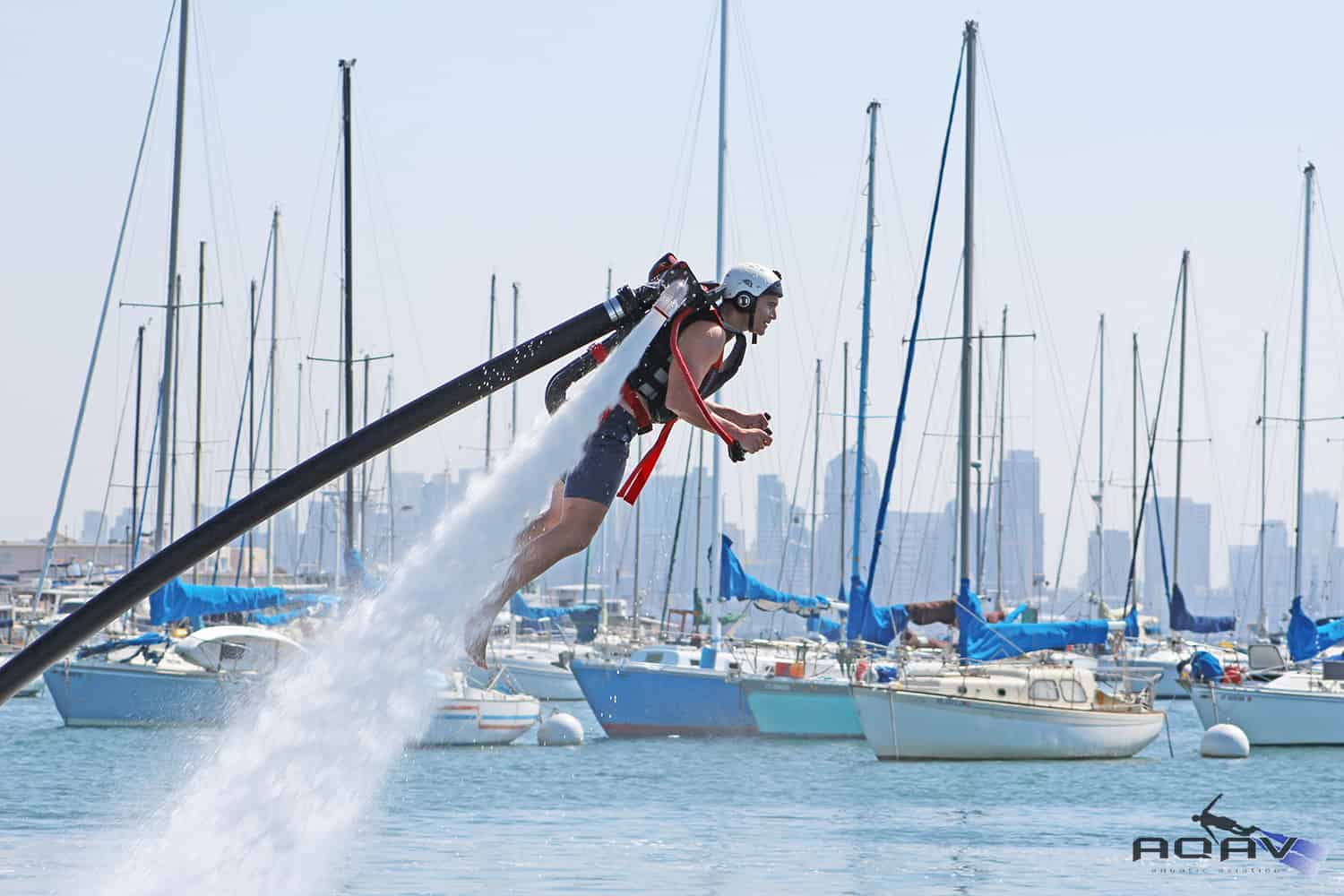 zapata racing water powered jetpack rentals san diego